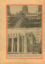Exposition Coloniale de Vincennes Temple d'Angkor A.O.F France 1930 ILLUSTRATION