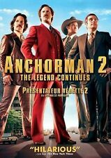 Anchorman 2: The Legend Continues (DVD, 2014)