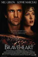 BRAVEHEART (1995) ORIGINAL MOVIE POSTER INTL. CAMPAIGN STYLE C -  ROLLED 2-SIDED