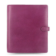 Filofax A5 Size Finsbury Organiser Planner Diary Raspberry Leather - 025371