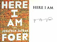 Jonathan Safran Foer~SIGNED IN PERSON & DATED~Here I Am~1st/1st + Photos!