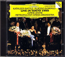 Kathleen BATTLE & Placido DOMINGO Live in Tokyo 1988 LEVINE CD Verdi Donizetti