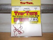 Tru Turn Panfish hooks 853ZS size 8 Qty:7  NIP