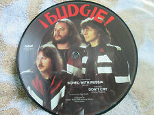 Budgie – Bored With Russia RCA – RCAP 271 UK 7inch 45 single Picture Disc