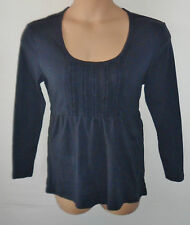COTTON TRADERS blue tunic top UK 16 US 14 Petite