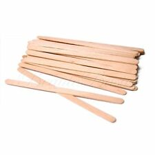 100 Sturdy Wax Waxing Stick Wood Spatulas Wooden Sticks, 5-1/2x1/4 - pw2013x1
