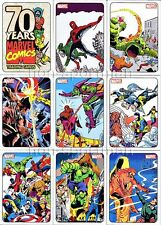 MARVEL 70TH ANNIVERSARY SET 72 CARDS