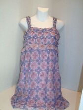 Max Studio Specialty Products New Womens Lilac Print SunDress XSmall
