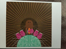 "CHARLEY CHARLES HARPER  "" Prickly Pair ""  New Art card print Porcupine & Cactus"