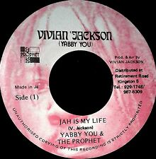 "YABBY YOU AND THE PROPHETS - JAH IS MY LIFE (7"" STEPPERS)"