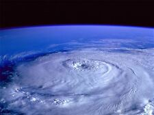 SPACE NATURE WEATHER HURRICANE SATELLITE VIEW EARTH POSTER ART PRINT BB4727A