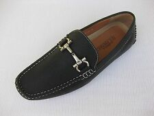 J'S Awake Mens Shoes NEW $45 Boston-24 Black Driver Loafer 12 M