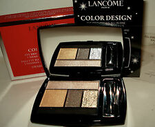 Lancome Color Design  All-in-One 5 Shadow &Liner Palette 105 Smoldering Gold NIB