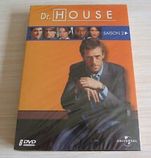 COFFRET 6 DVD PAL DR HOUSE INTEGRALE SAISON 2 NEUF SOUS CELLO ZONE 2