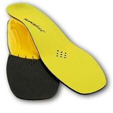 #E Superfeet Yellow Insoles Low Medium Arch Women 10.5,11,11.5,12 Men 9.5,10,11