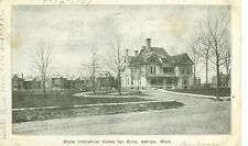 ADRIAN,MICHIGAN-STATE INDUSTRIAL HOME FOR GIRLS-B/W-PM1907(MICH-A#2)