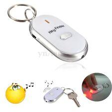 LED Porte Clé Siffleur Localisateur Sans Fil Key Finder Anti-perte LED Torche