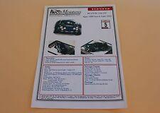 IN Planche papier voiture Alpine alpine N°5 Tour de corse 1972 Heco miniatures