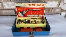 Vintage Pep Boys/Vornado Propane Torch Kit Bernzomatic UL-125 Solid Brass Pcs