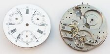Partial Movement for Swiss Pocket Watch w / Day & Date.