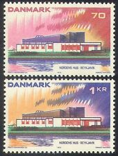 Denmark 1973 Nordic House/Building/Architecture/Postal Co-operation 2v (n40926)