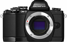 Olympus OM-D E-M10 16.1 MP Digital SLR Camera - Black (Body Only)