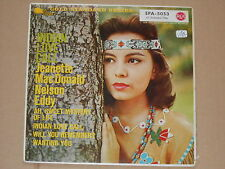 """JEANETTE MAC DONALD AND NELSON EDDY -Indian Love Call- 7"""" EP 45"""