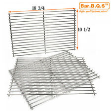 18 3/4'' Universal Gas Barbecue Grill Stainless Steel Cooking Grid 54453-3