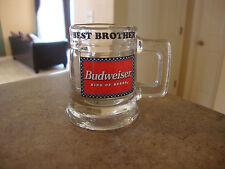 Budweiser Best Brother Shot Glass