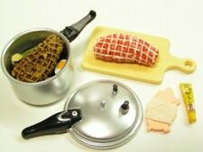 Re-ment kitchen kid's cheerful cooking #5-stewing meat w/pressure cooker Barbie