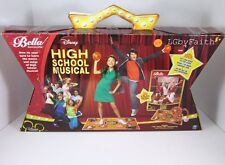 NEW Disney High School Musical Bella Dancerella Dance Studio DVD MAT HEADSET BAL