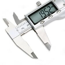 "6"" 150mm Electronic Digital Vernier Caliper Micrometer Guage LCD Stainless Steel"