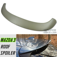 ABS PAINTED ABS MAZDA 3 MAZDA3 5DR HATCHBACK ROOF SPOILER 2014+ 3rd