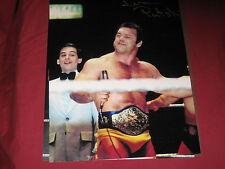 WWE,WWF HALL OF FAME LEGEND THE POLISH POWER IVAN PUTSKI AUTOGRAPHED 8X10 W/COA