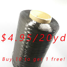 20yd TORAY T700SC 12K Carbon Fiber tow continuous filament Yarn thread tape