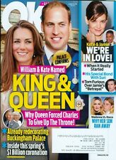 2016 OK! Magazine: William & Kate Named King & Queen/Madonna vs. Rocco