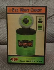 Eye Want Candy Jar - Cracker Barrel NWT