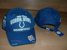 INDIANAPOLIS COLTS 2X SUPER BOWL CHAMPIONS ADJUSTABLE MENS CAP HAT