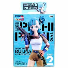 Dragon Ball Z Bulma Motocross Pichi Pichi GAL Figure JAPAN ANIME MANGA JUMP