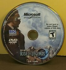 (PC) Rise of Nations: Rise of Legends  (No Code) (Disc Only) #024  (NO CODE)