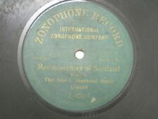"THE BLACK DIAMOND BAND X 40216  RARE 78 RPM RECORD 10"" GREEN VG-"