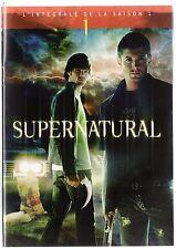 SUPERNATURAL Intégrale saison 1 - Coffret 1 boitiers Classique 6 DVD - Etat Neuf