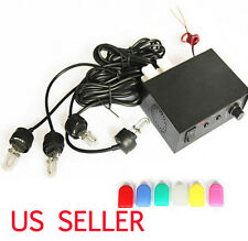4 LED Car Truck Bulb Flashing Lamp Strobe Kit Fire Lightbar Light Headlights 12V