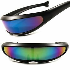 Sci-Fi Space Robot Party Costume Cyclops Futuristic Novelty Revo Lens Sunglasses