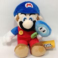 """New Super Mario Bros. Plush Ice Mario Soft Toy Stuffed Animal Teddy Doll 7"""" NWT"""