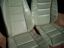 Mercedes Benz W124 E class 89-93 Front leather factory seats cover Parchment