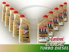 OLIO MOTORE CASTROL EDGE TURBO DIESEL 5W-40 TITANIUM FST CONFEZIONE 10 LT