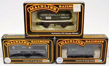 Three Mainline OO scale model train cars in original boxes Lot 375