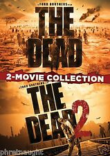 THE DEAD / THE DEAD 2 - 2 MOVIE COLLECTION DVD - HORROR - ZOMBIES