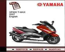 Yamaha XP500 T-Max 2007 Service Repair Workshop Manual